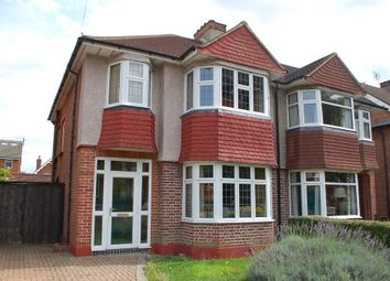 Thumbnail 3 bed semi-detached house for sale in Chestnut Avenue, Hampton