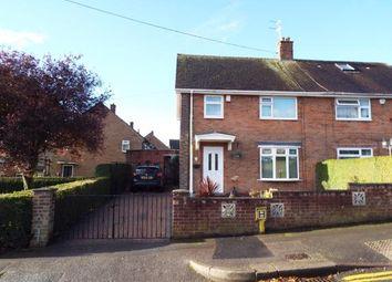 Thumbnail 3 bed semi-detached house for sale in Belsay Road, Bestwood, Nottingham, Nottinghamshire