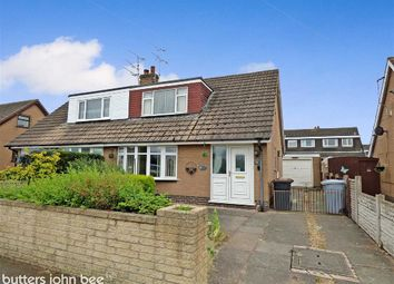 Thumbnail 2 bed semi-detached bungalow for sale in Greenfields Avenue, Shavington, Crewe