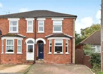 Thumbnail 3 bed semi-detached house for sale in Cambridge Road, Crowthorne, Berkshire