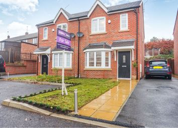 Thumbnail 3 bed semi-detached house for sale in Patient Close, Chilwell