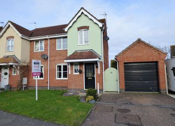 Thumbnail 3 bed semi-detached house for sale in Howley Gardens, Lowestoft