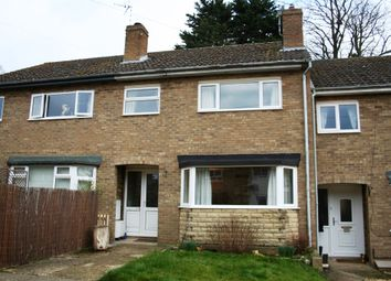 Thumbnail 3 bed terraced house for sale in Deweys Close, North Luffenham, Oakham