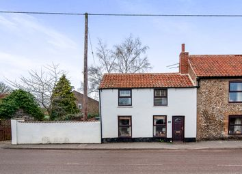 Thumbnail 2 bed semi-detached house for sale in Lodge Road, Feltwell, Thetford