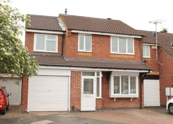Thumbnail 3 bed semi-detached house for sale in Larchwood Close, Leicester