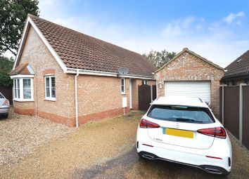 Thumbnail 3 bed detached bungalow for sale in Jimmy Brown Close, Caister-On-Sea, Great Yarmouth