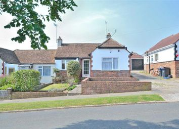Thumbnail 3 bedroom semi-detached bungalow for sale in St James Avenue, North Lancing, West Sussex