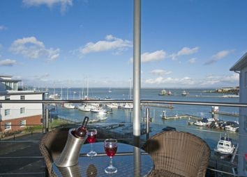 Thumbnail 2 bed flat for sale in Medina Road, Cowes