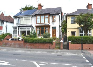 Thumbnail 3 bedroom semi-detached house for sale in Gower Road, Sketty, Swansea