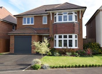 Thumbnail 4 bed detached house for sale in Guinevere Avenue, Stretton, Burton-On-Trent