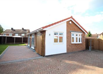 Thumbnail 2 bedroom detached bungalow for sale in Oak Drive, Nuthall, Nottingham