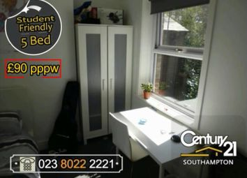 Thumbnail 5 bed property to rent in Burgess Road, Southampton