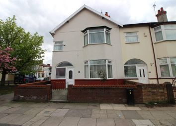 Thumbnail 4 bed end terrace house for sale in Queens Drive, Stoneycroft, Liverpool, Merseyside