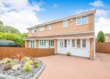 Thumbnail 3 bedroom semi-detached house for sale in Brython Drive, St. Mellons, Cardiff