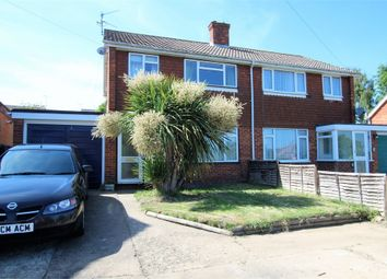 Thumbnail 3 bed semi-detached house for sale in 27 Durkins Road, East Grinstead, West Sussex