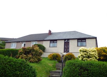 Thumbnail 2 bed semi-detached bungalow for sale in Strone Crescent, Greenock