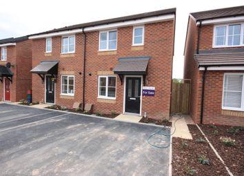 Thumbnail 3 bedroom semi-detached house for sale in Bambury Drive, Talke, Stoke-On-Trent