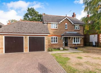 Thumbnail 4 bed detached house to rent in Mallards Way, Lightwater