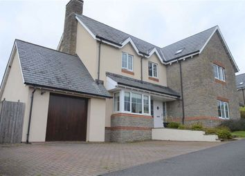 Thumbnail 4 bed detached house for sale in Dukefield, Three Crosses, Swansea