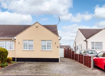 Thumbnail 2 bed semi-detached bungalow for sale in The Furrows, Luton