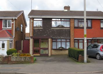 Thumbnail 3 bedroom semi-detached house for sale in Greets Green Road, West Bromwich