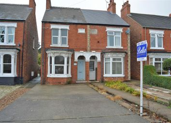 Thumbnail 2 bed semi-detached house for sale in Ashby Road, Scunthorpe