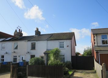 Thumbnail 2 bed end terrace house for sale in Cauldwell Hall Road, Ipswich