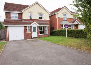 Thumbnail 4 bed detached house for sale in Caliban Mews, Warwick