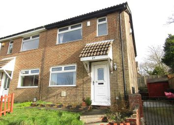 Thumbnail 3 bed semi-detached house for sale in Bronwydd, Birchgrove, Swansea, City And County Of Swansea.