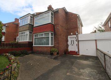 Thumbnail 3 bed semi-detached house for sale in Brancepeth Avenue, Newcastle Upon Tyne