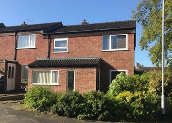 Thumbnail 3 bed terraced house for sale in Anthony Drive, Norwich, Norfolk