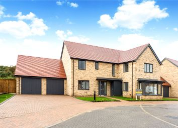 Thumbnail 5 bed detached house for sale in The Orchards, Linton Road, Great Abington, Cambridge