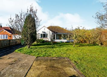Thumbnail 4 bed detached bungalow for sale in St Leonards Drive, Chapel St. Leonards, Skegness
