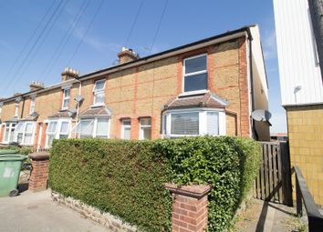 Thumbnail 3 bed end terrace house to rent in Campbell Road, Maidstone