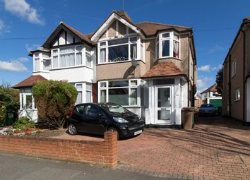 Thumbnail 3 bed semi-detached house for sale in Burleigh Road, North Cheam, Sutton
