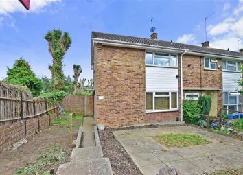 Thumbnail 2 bed end terrace house for sale in Ifield Way, Gravesend, Kent