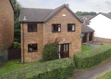 Thumbnail 4 bedroom detached house for sale in Constantine Way, Bancroft Park, Milton Keynes