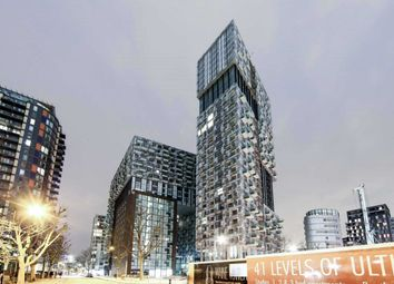 Thumbnail 1 bed flat to rent in Duckman Tower, Lincoln Plaza, 20 Millharbour, Canary Wharf