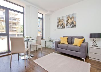 Thumbnail 3 bed flat for sale in Waterside House, Packet Boat Lane