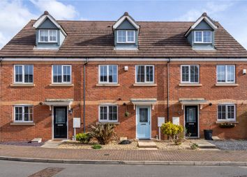 Thumbnail 3 bed town house for sale in Clover Way, Syston, Leicester, Leicestershire