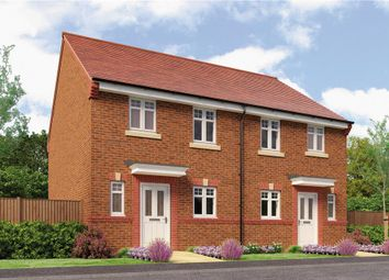 "Thumbnail 3 bed semi-detached house for sale in ""Hawthorne"" at Rykneld Road, Littleover, Derby"
