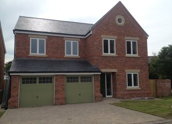 Thumbnail 5 bed detached house to rent in Vyner Croft, Prenton