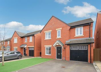 Thumbnail 4 bed detached house for sale in Little Meadow Place, Shavington, Crewe