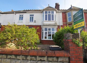 Thumbnail 3 bedroom terraced house for sale in Okus Road, Swindon