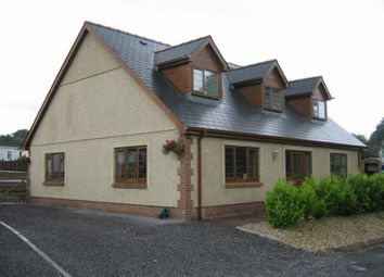 Thumbnail 4 bed detached bungalow to rent in Carmel, Llanelli