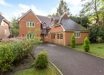 Thumbnail 5 bed detached house for sale in Vale Wood Drive, Lower Bourne, Farnham, Surrey