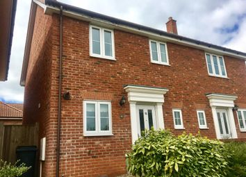 Thumbnail 3 bed property to rent in Rightup Lane, Wymondham