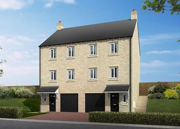 "Thumbnail 3 bedroom town house for sale in ""The Bainbridge"" at Sykes Lane, Silsden, Keighley"