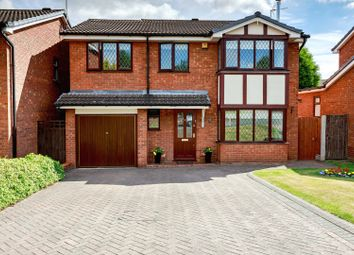 Thumbnail 5 bed detached house for sale in Holywell Rise, Lichfield