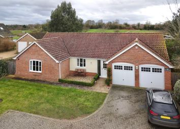 Thumbnail 4 bed detached bungalow for sale in Woodbridge Road, Grundisburgh